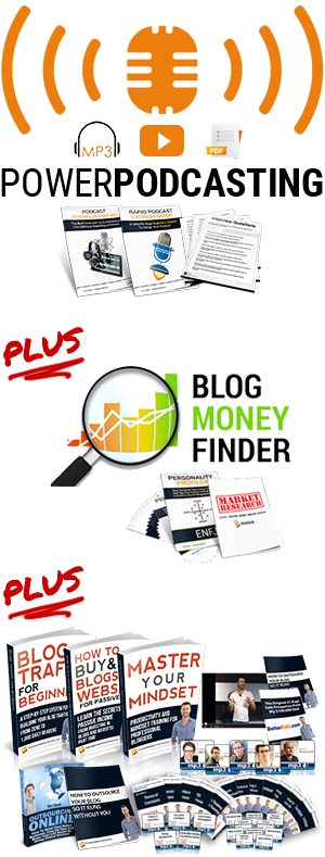 Power Podcasting Blog Money Finder and Eguides